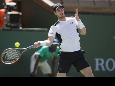 Andy Murray slumped to a shock 6-4, 4-6, 7-6 (7/3) defeat to Federico Delbonis. AFP