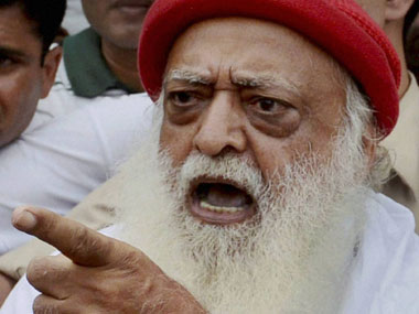 File image of Asaram Bapu. PTI