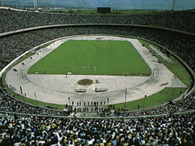 File photo of Azadi Stadium.