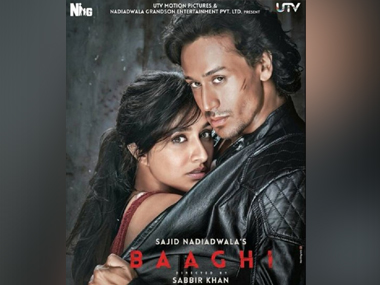 Poster of 'Baaghi'