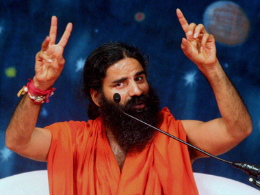 A file photo of Baba Ramdev. PTI
