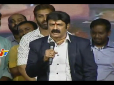 Balakrishna said his fans were not satisfied with eve-teasing roles. IBNLive