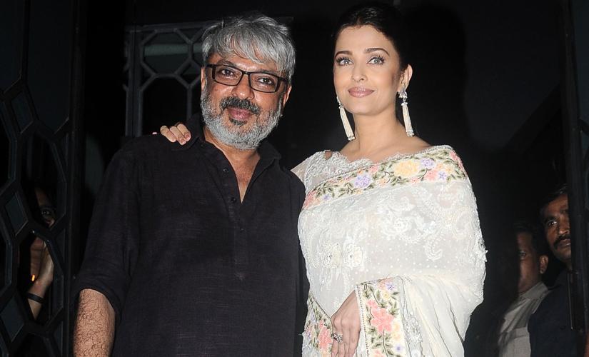Bhansali with Aishwarya Rai Bachchan. Image by Sachin Gokhale/Firstpost
