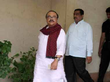 Former PWD minister Chhagan Bhujbal. PTI