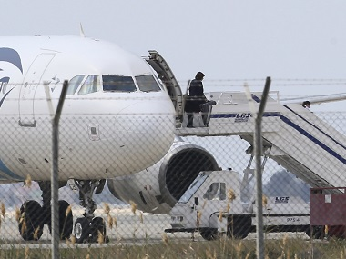 EgyptAir hijacker arrested With the release of all hostages standoff ends at Cyprus Larnaca airport
