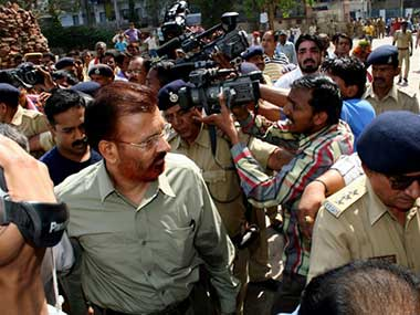 DG Vanzara in a file photo. AFP