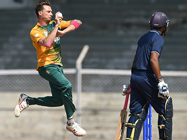 Dale Steyn has been 'rested' more than he has played in ODIs and T20s for South Africa. AFP