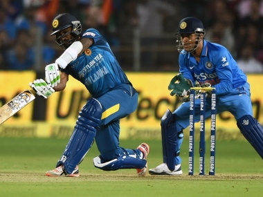 File image of India vs Sri Lanka. AFP