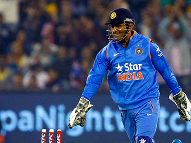 MS Dhoni. GettyImages