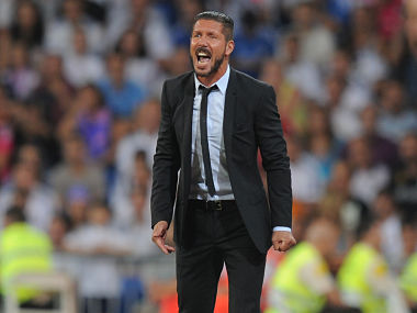 File photo of Diego Simeone. Getty Images
