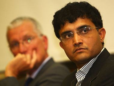 Sourav Ganguly. Getty