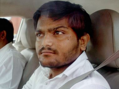 Patel quota agitation leader Hardik Patel. PTI