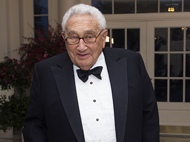 Parallel approach on security economy Henry Kissinger says current phase of USIndia ties can be traced back to 1971 Bangladesh war