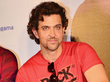 Hrithik Roshan. Image from IBNlive