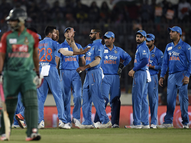 India were dominant in their win against Bangladesh. AFP