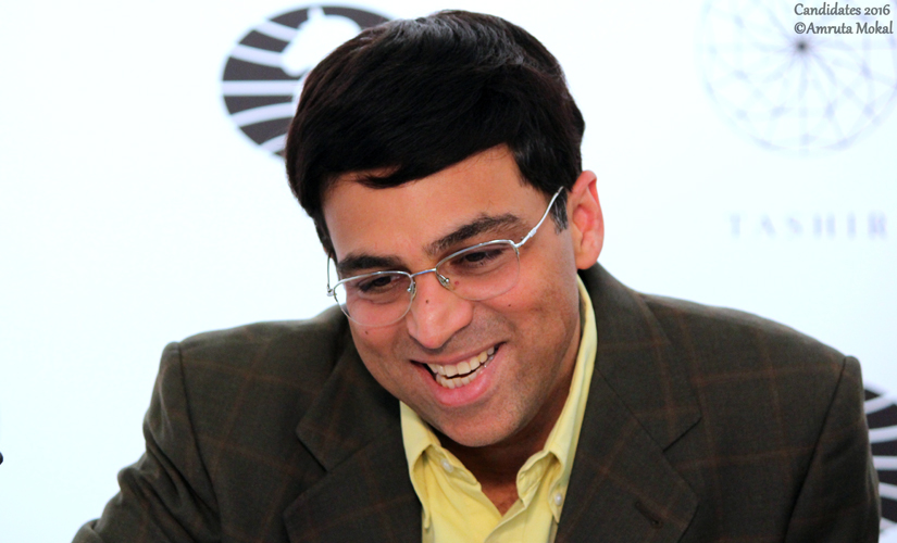 Despite an error leading to his second successive draw, Anand seemed satisfied with the outcome of the match against Caruana during the news conference. Amruta Mokal