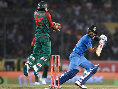 Asia Cup 2016 First the storm then the calm as Kohli Dhawan and Dhoni script the perfect chase