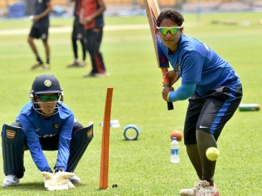 Indian Women's Cricket team practice ahead of World T20. PTI