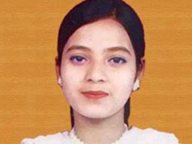 Ishrat Jahan in a file photo. Ibnlive