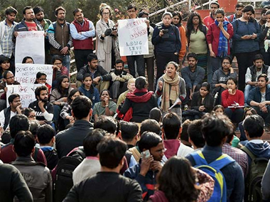 JNUSU elections In the fight between ideologies JNU is painted all red once again