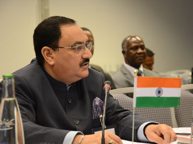 File Image of Union Health Minister JP Nadda. PIB