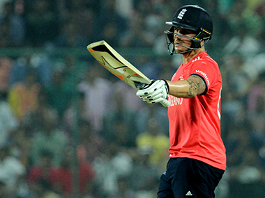 Jason Roy blasted his way through the New Zealand bowling attack. Solaris Images