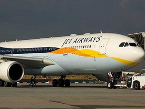 A Jet Airways aircraft. PTI