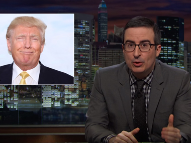 John Oliver on his show Last Week Tonight. image credit: Youtube