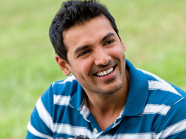 John Abraham is currently promoting Rocky Handsome. Image from IBNlive