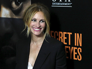 Julia Roberts is currently in talks to star in courtroom drama Train Man. Image from Reuters