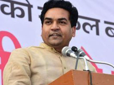 File photo of Kapil Mishra. Twitter @KapilMishraAAP