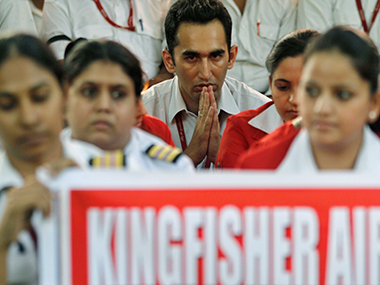 Unpaid dues of Kingfisher Airline employees amount to over Rs 300 crore