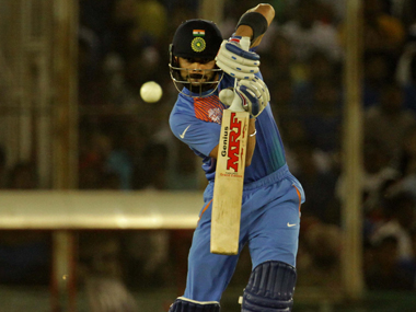 Virat Kohli against Australia. Solaris Images