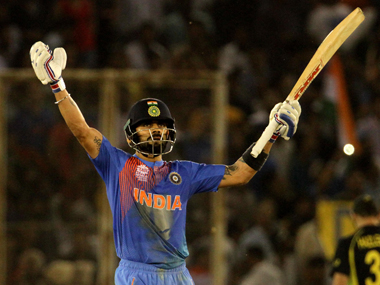Virat Kohli is not as cool a customer as Dhoni but bat in hand, he metamorphosises into a Zen Master