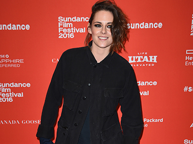 Kristen Stewart is rumoured to be dating French singer Soko. Image from Getty