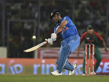 India vs West Indies BCCI announce Floridabound T20 squad MS Dhoni to lead