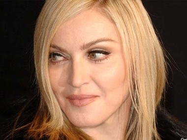 Madonna. Image from IBNlive