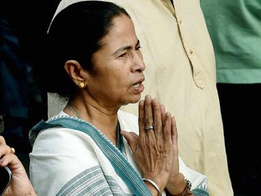 A file photo of Mamata Banerjee. PTI