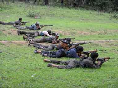 Maoists menace. AFP