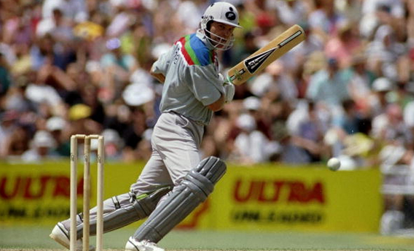 Martin Crowe was in his finest m. Getty Images