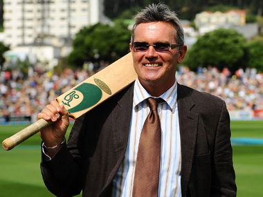 File photo of Martin Crowe. Getty Images
