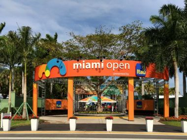 Miami Open. Image courtesy: Twitter
