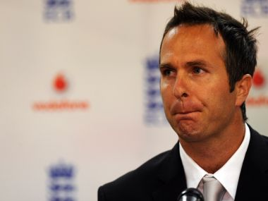 File photo Michael Vaughan. AFP
