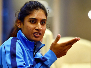 File photo of Mithali Raj. PTI