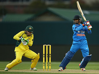 India captain Mithali Raj during a recent match against Australia. Getty