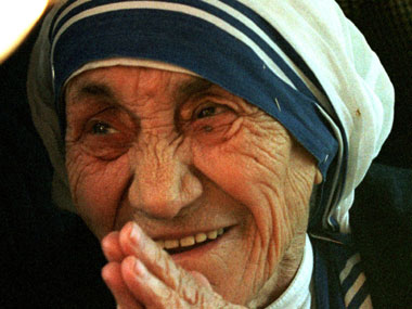 File photo of Mother Teresa. Reuters