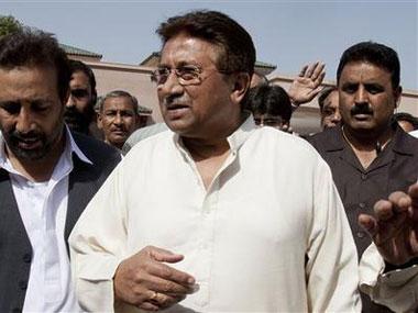 Musharraf was summoned in a treason case. AP