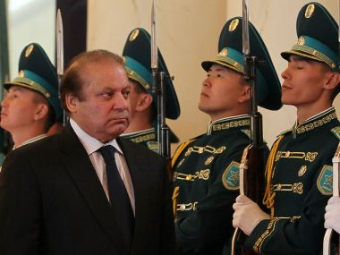 Pakistan Prime Minister Nawaz Sharif. AFP