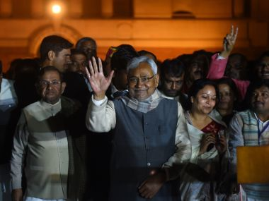 Nitish Kumar. File photo. AFP