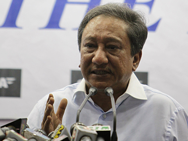 File photo of BCB President Nazmul Hasan. AFP